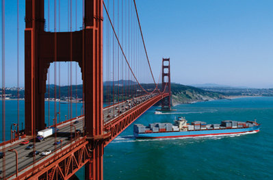 The Golden Gate Bridge in San Francisco (c)2012 Elizabeth Fall